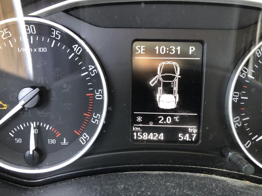 01 2 c au thermome tre de la voiture