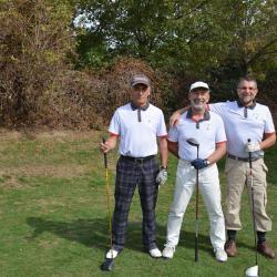 Gérard Chevron, Yves Komorn et Jean-Marc Frances