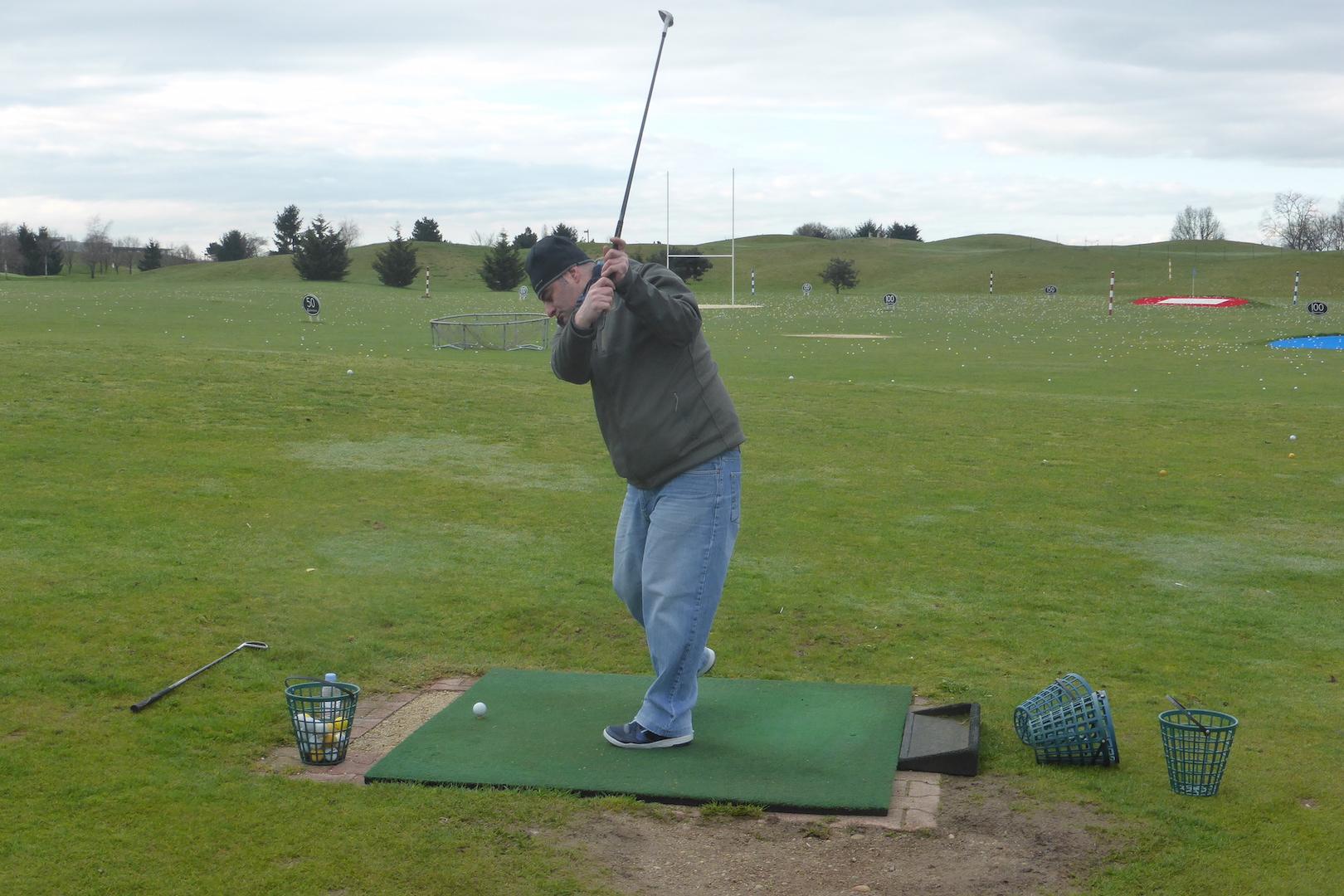 Les premiers swings de Michael KLEBINDER