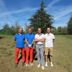 Olivier, Christophe, Sean et Thibaut