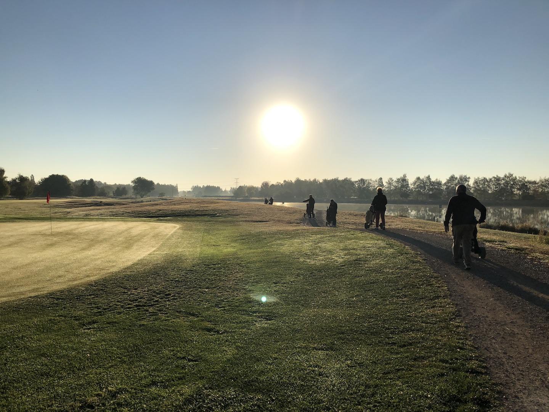 La procession au lever du soleil