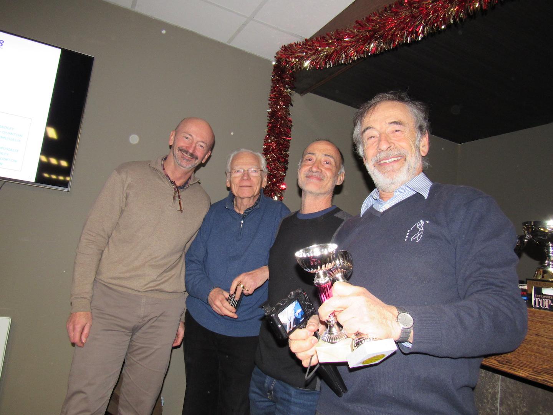 Les lauréats du Ringer Score Mionnay