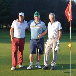 Eric GRANGE, Gérard BRADLEY et Gérard BLANC