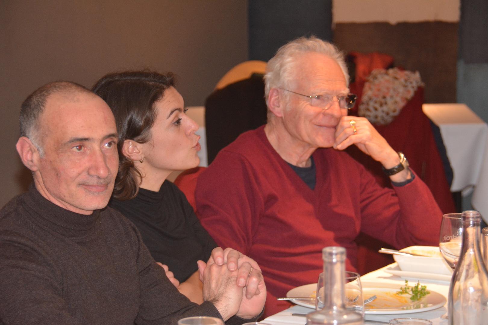 Christophe QUINTON, Caroline VAILHE et Jean-Pierre LAPINTE