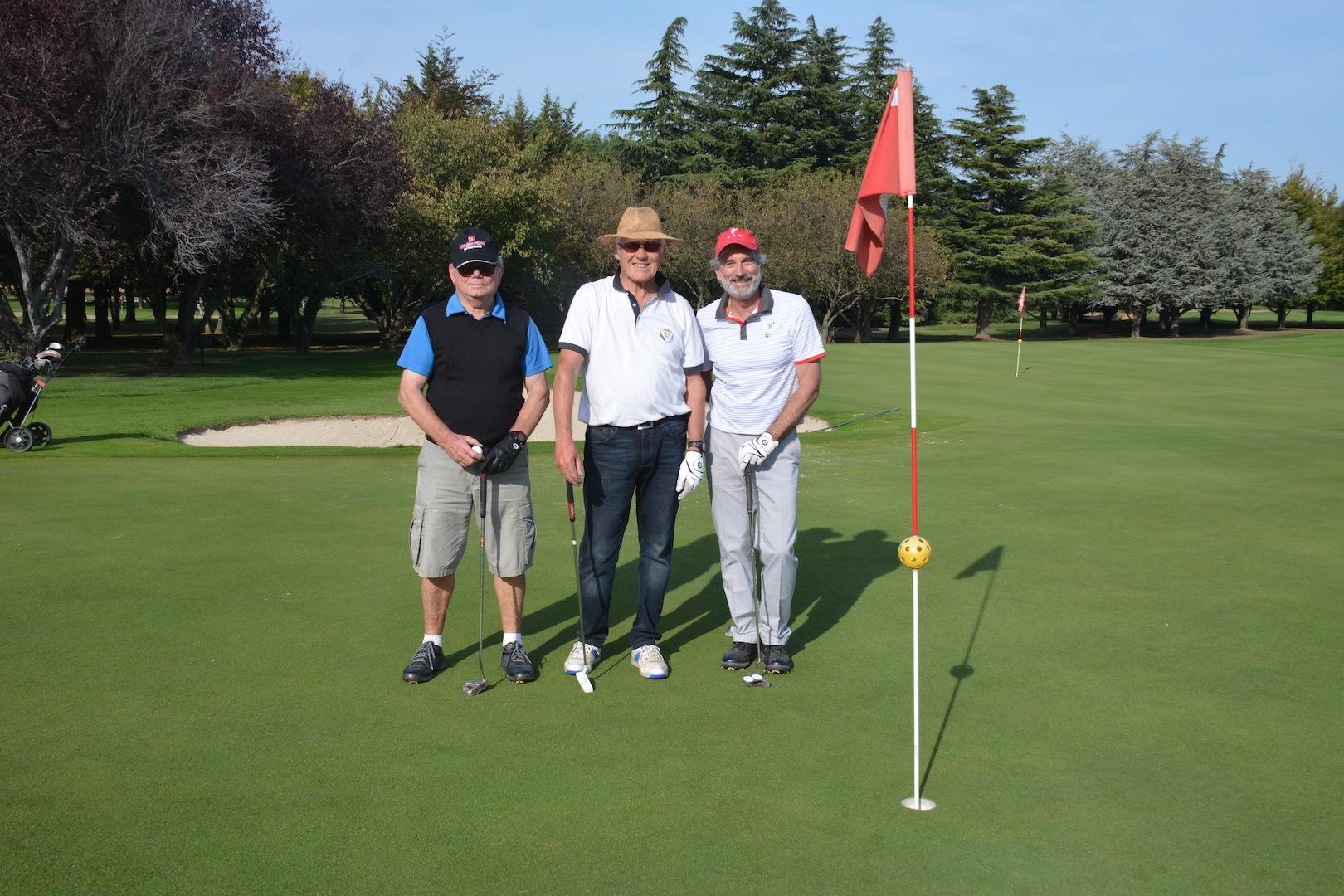 Daniel, Gilles, Jean-Manuel