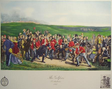 61 the golfers at st andrews 1847