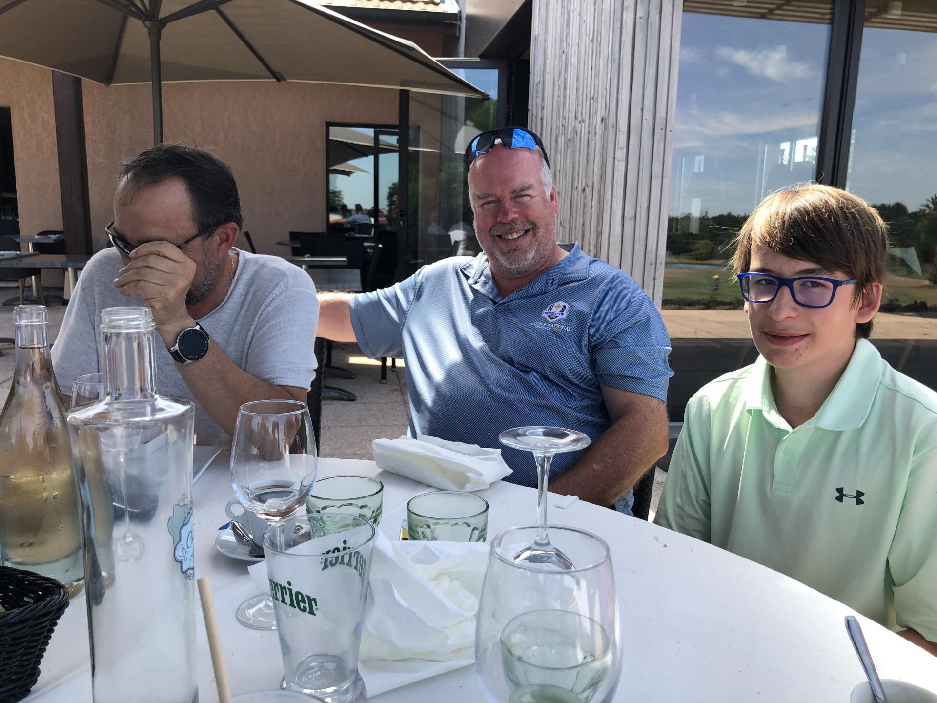 Team BRADLEY à table