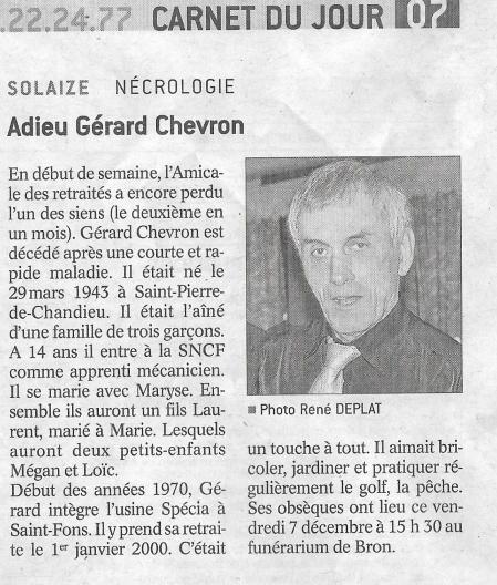 Gerard chevron