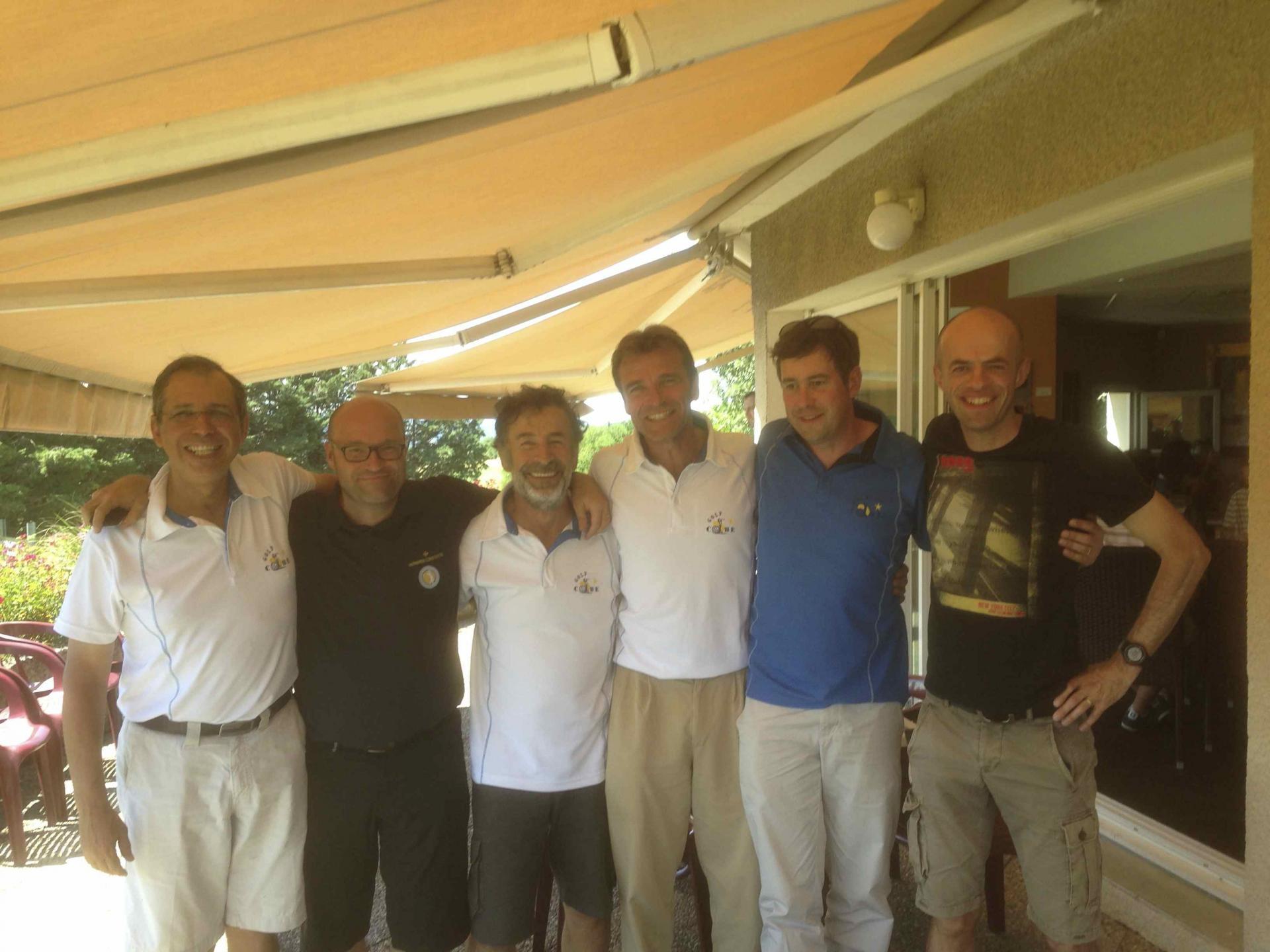L'équipe après le départ d'Arnaud Wisnia