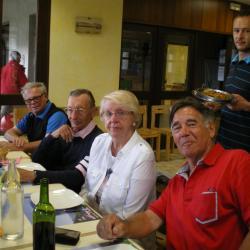 Déjeuner au restaurant du golf