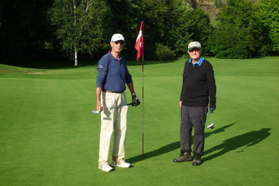 Jean et henri a val de sorne en 2012