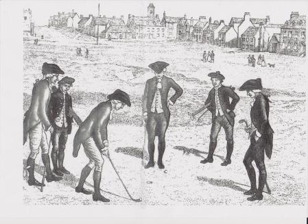 Le green du trou n 1 en 1798