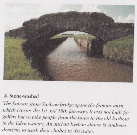 Le swilcan bridge