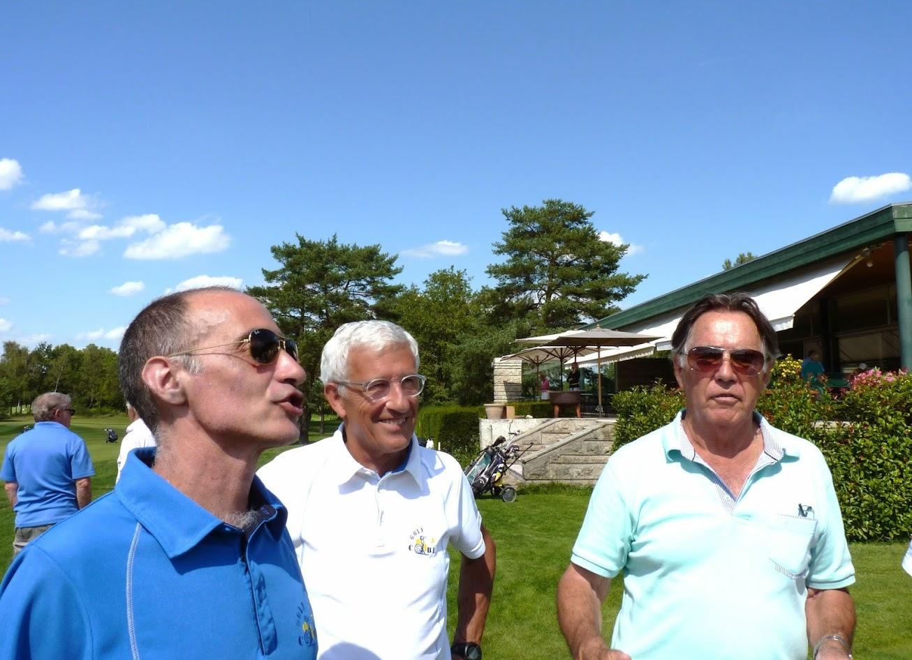 Christophe, Roland et Félix