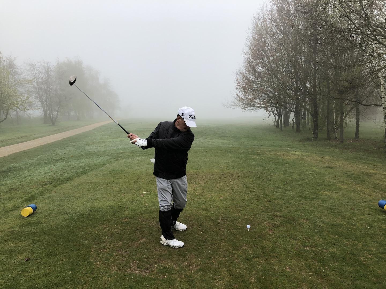 Jean Martinez, président de la section golfique d'ASC IT-CE