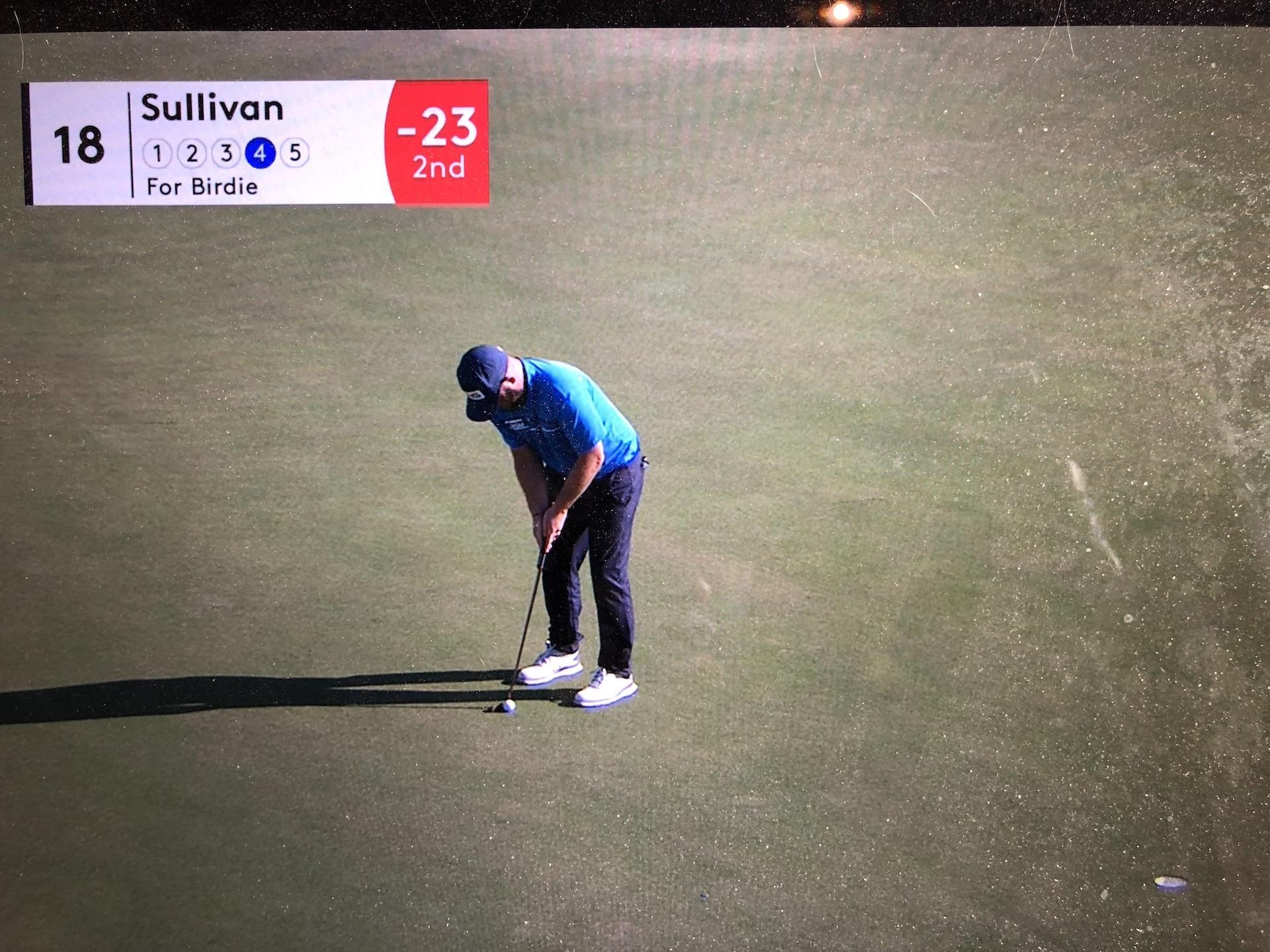Andy SULLIVAN est passé près de la victoire