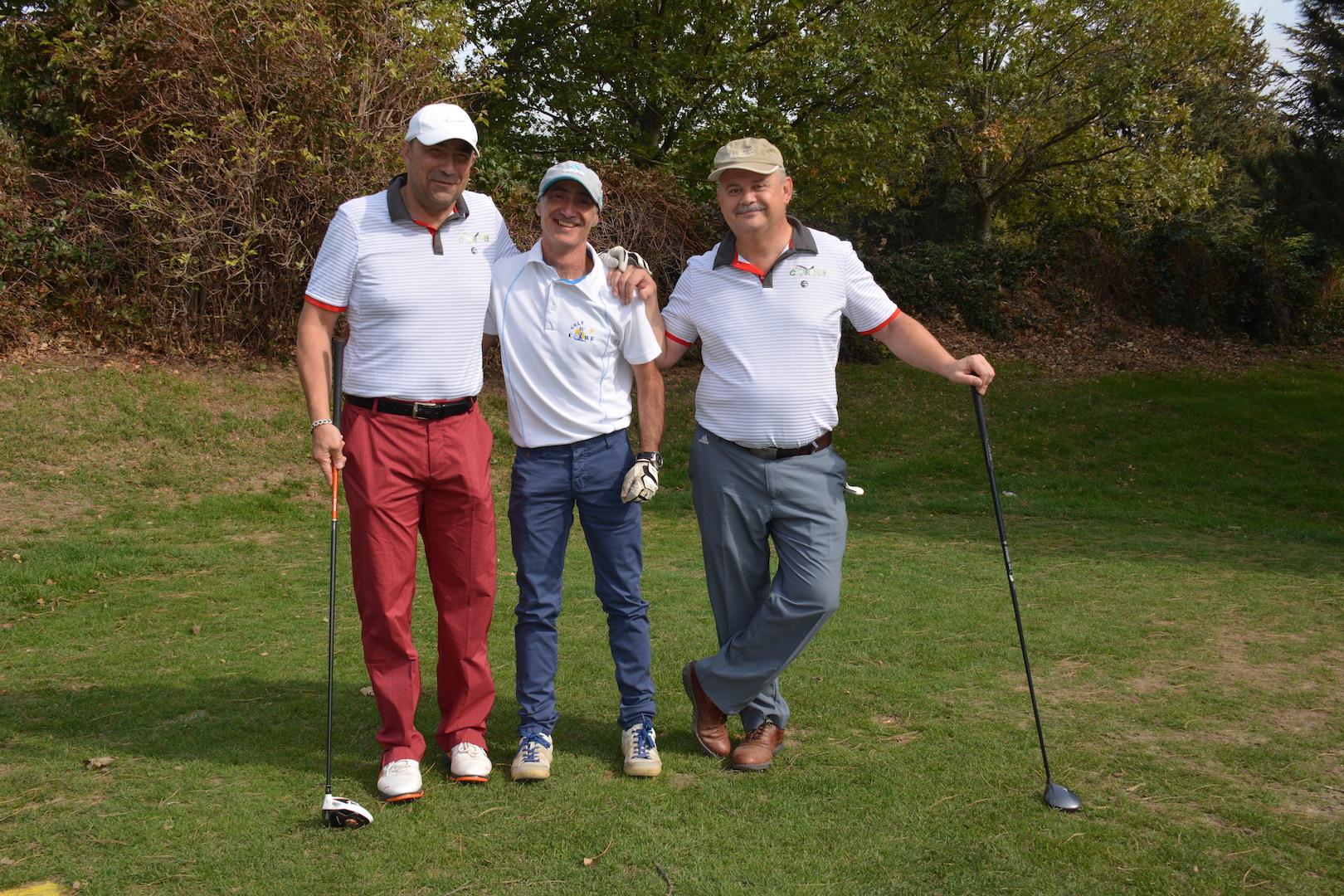 Eric Grange, Christophe Quinton et Philippe Massuyes