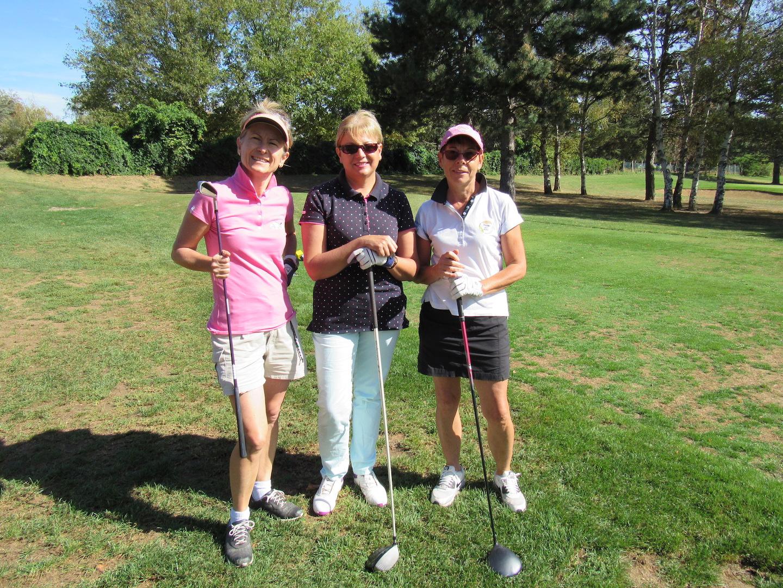 Pauline, Myriam et Chantal