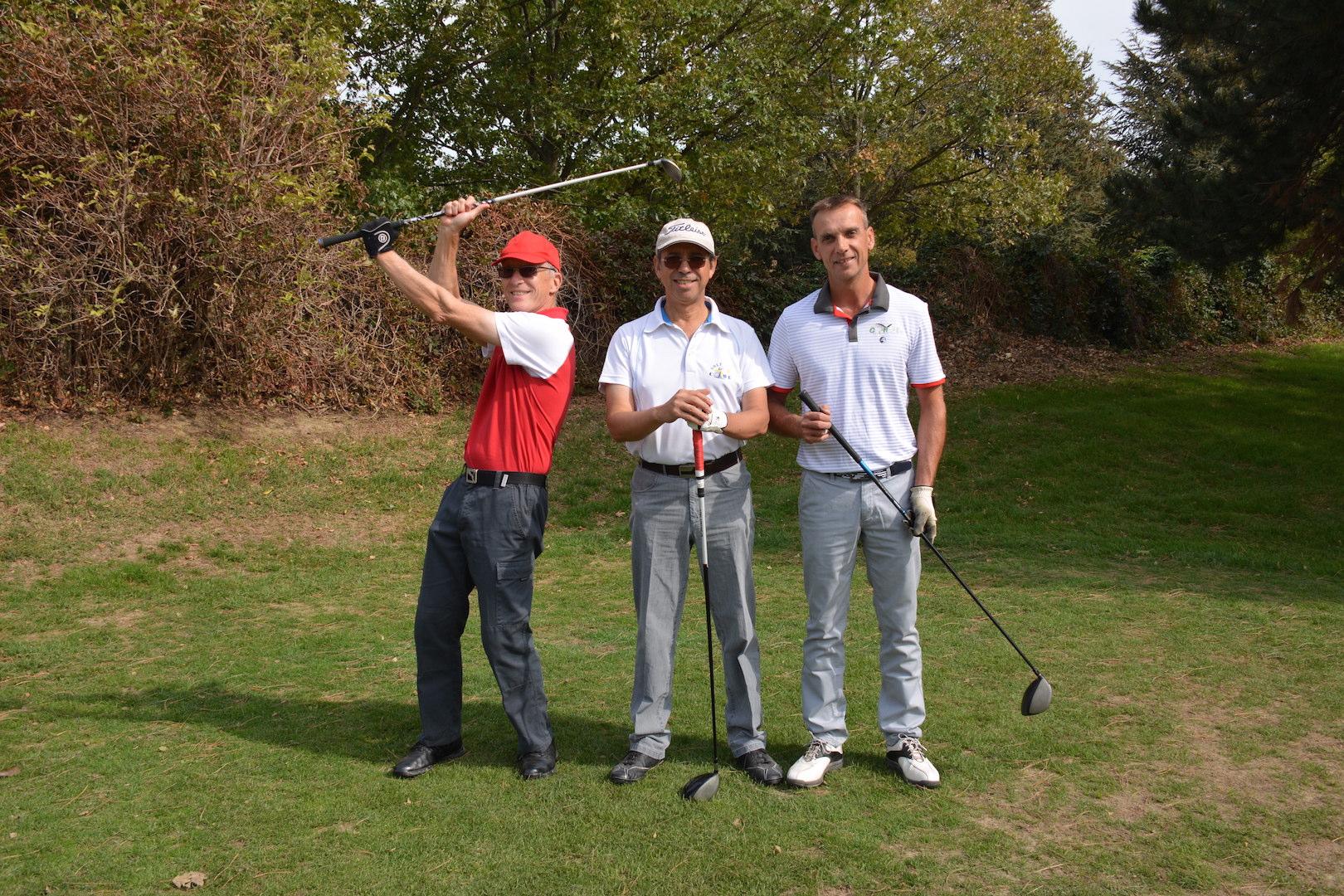 Jean-Marc Pujol, Quentin de Carvalho et Frédéric Fleury