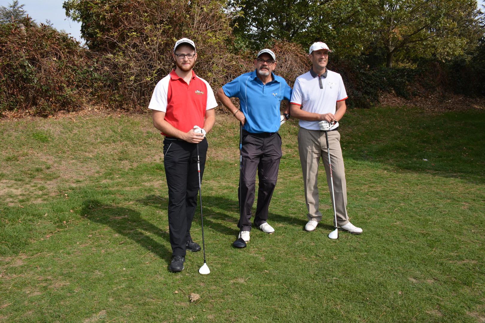 Olivier Stein, Roland Murard et Sean Duffy