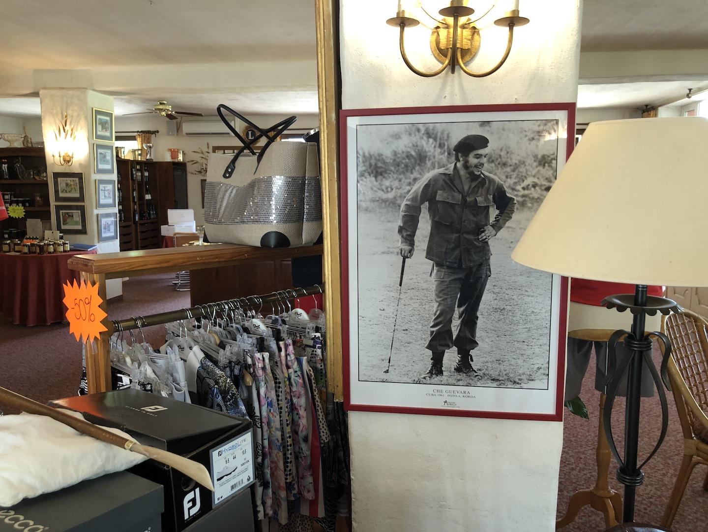 Ernesto Che, golfeur émérite