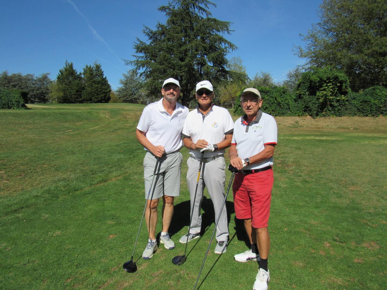 Patrik, Gérard et Jacky