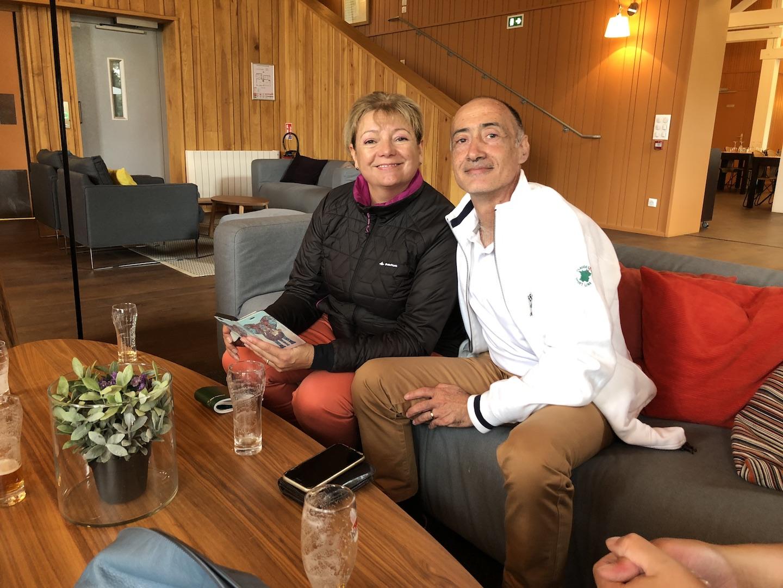 Myriam QUINTON, 2ème en Net, et Christophe