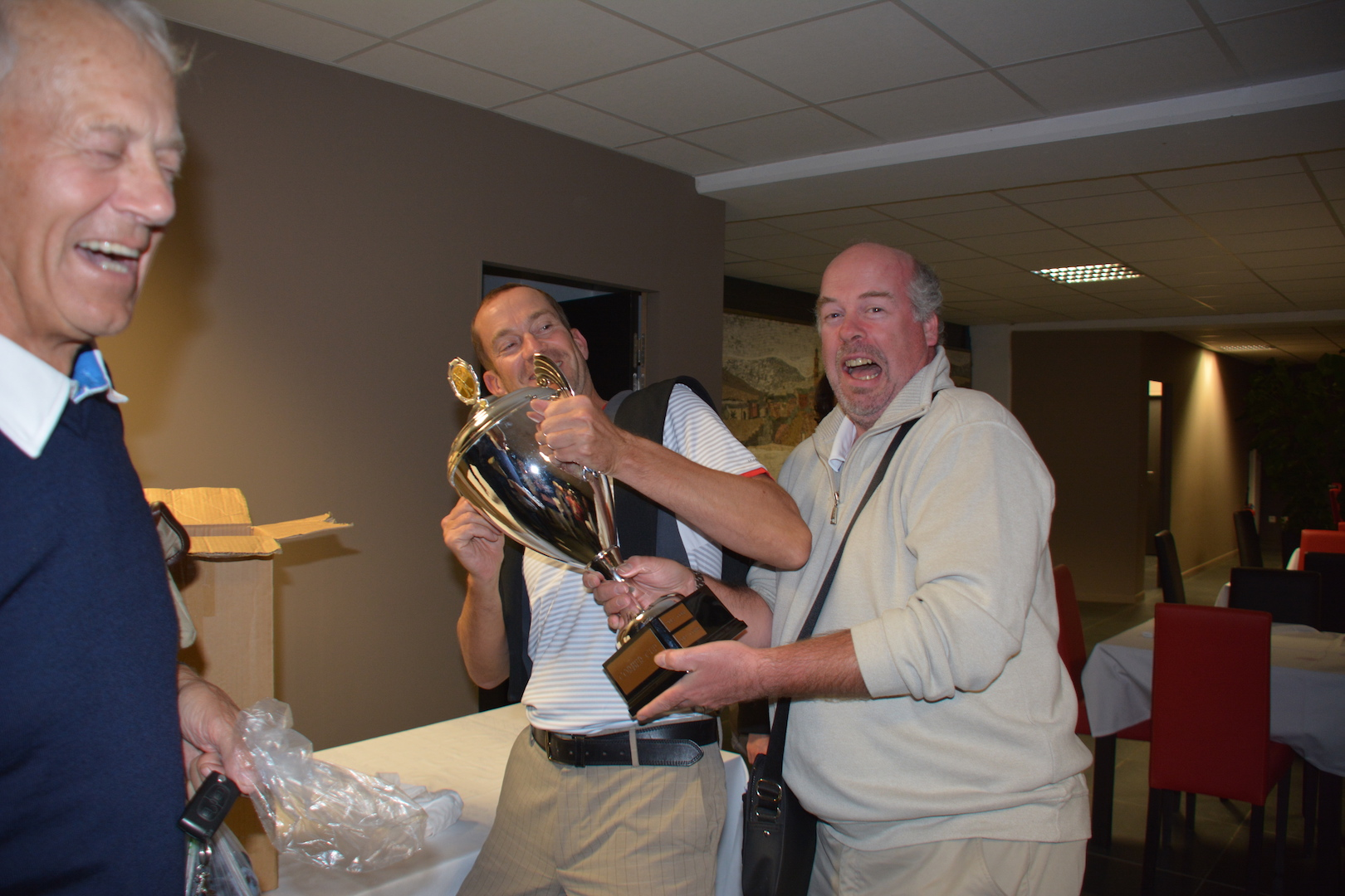 Gérard Bradley, avec ses 2 victoires, espérait ramener la Cup au COBE