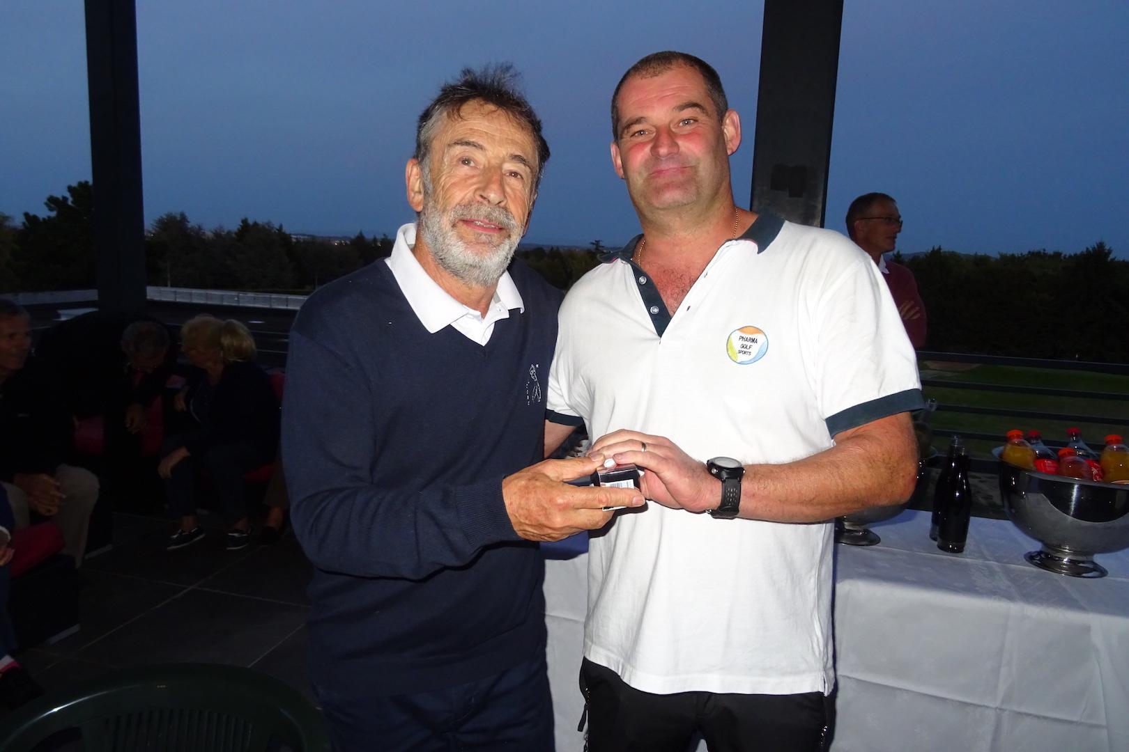 Olivier VICARD, gagnant du concours d'approche