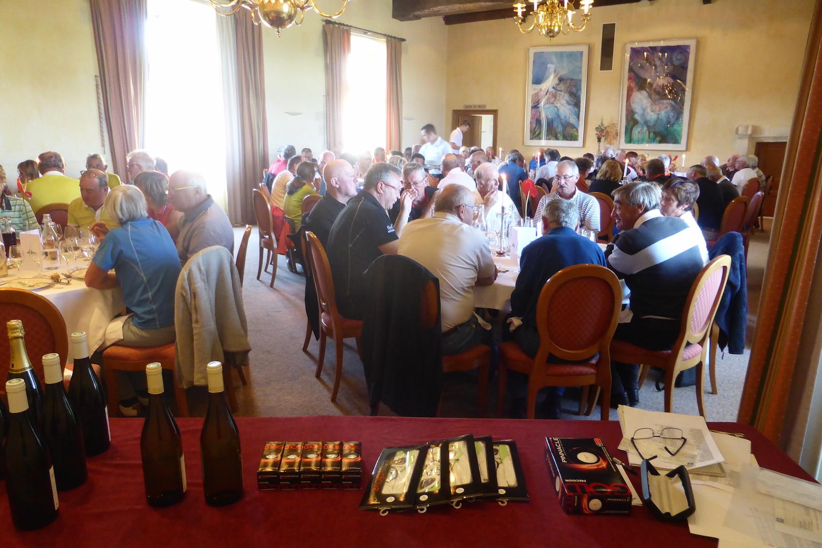 Déjeuner dans le Grand Salon