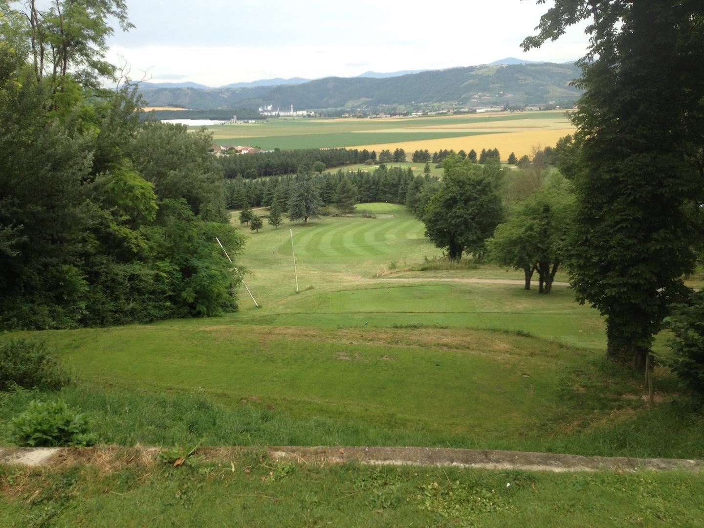 Le spectaculaire départ du n°2 domine la vallée du Rhône
